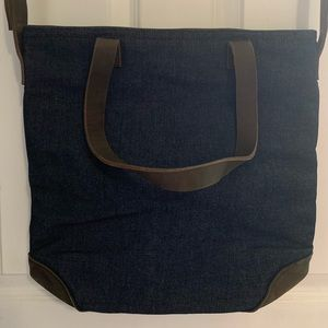 Madewell Tote by Meyelo Demin + Leather Bag! NEW!!